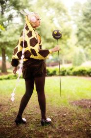 Girafarig from Pokemon worn by Coffee-Cat Cosplay