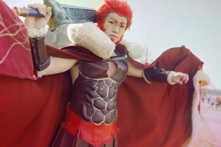Iskandar the Great (Rider) from Fate/Zero by DeKlein