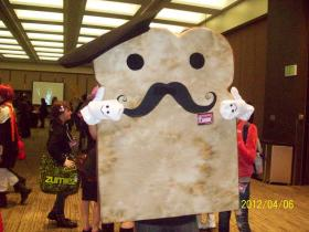 Toast from Recreation:  Food & Drink Mascot / Product