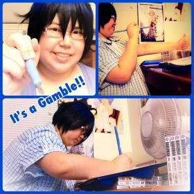 Mashiro Moritaka from Bakuman worn by xKiYoMiNaTiONx