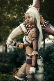 Zhu Rong from Dynasty Warriors 8
