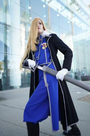 Olivier Milla Armstrong from FullMetal Alchemist: Brotherhood worn by konekoanni