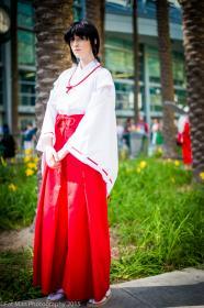 Kikyo from Inuyasha worn by konekoanni