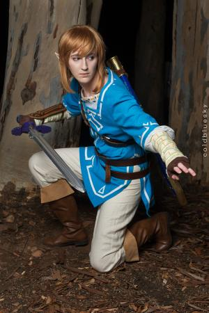 Link from Legend of Zelda: Breath of the Wild worn by konekoanni