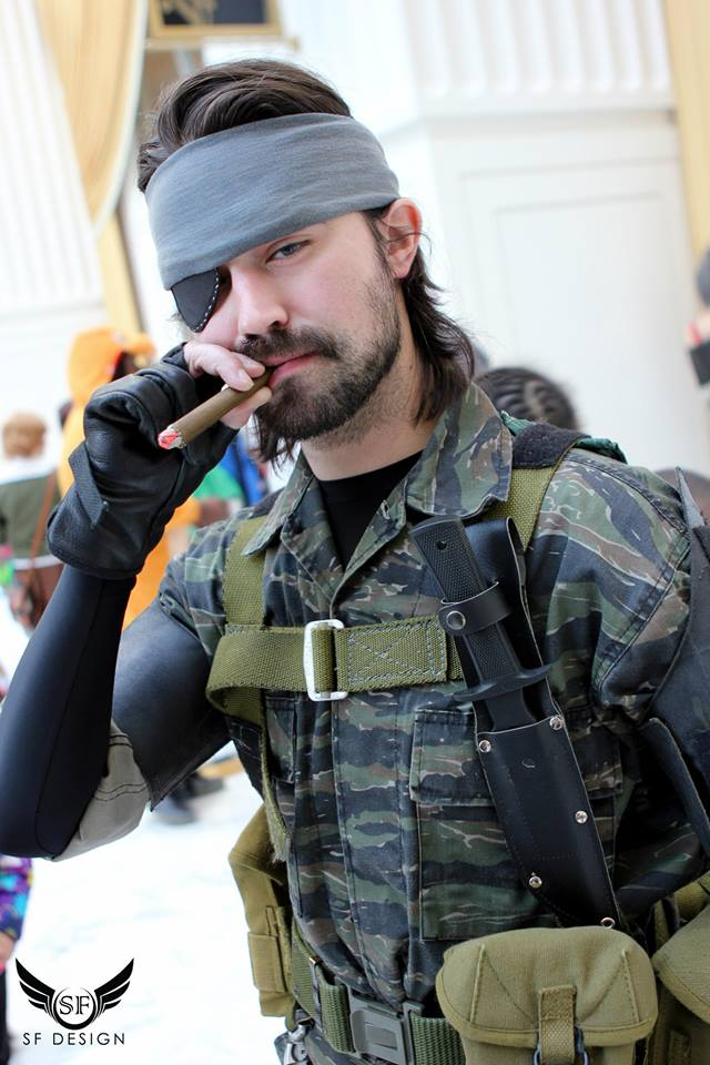 Naked Snake Metal Gear Solid 3 Snake Eater By -8332