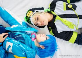 Aoba Seragaki from DRAMAtical Murder worn by CYL Cosplay