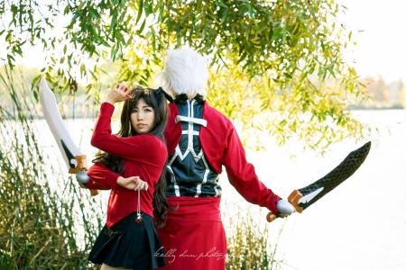 Rin Tohsaka from Fate/Stay Night worn by CYL Cosplay
