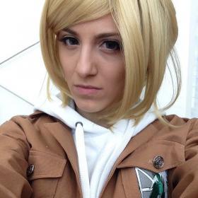 Annie Leonhardt from Attack on Titan worn by Mibsie