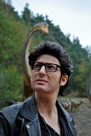 Dr. Ian Malcolm from Jurassic Park by Pumkin