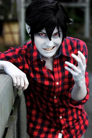 Marshall Lee from Adventure Time with Finn and Jake by Pumkin