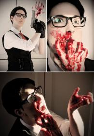 Joseph Oda from The Evil Within worn by Pumkin