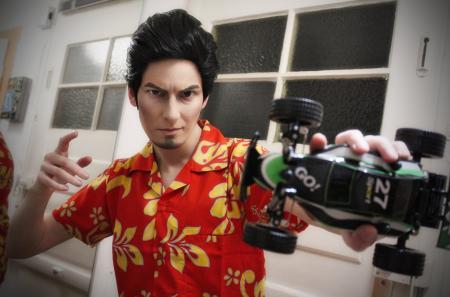 Kazuma Kiryu from Yakuza 3