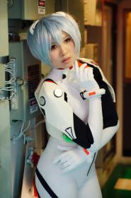 Rei Ayanami from Neon Genesis Evangelion worn by christie-cosplay