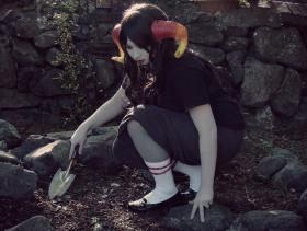 Aradia Megido from MS Paint Adventures / Homestuck worn by Isavu