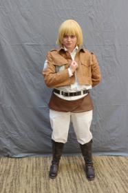 Armin Arlelt from Attack on Titan