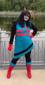 Latula Pyrope from MS Paint Adventures / Homestuck worn by Arobear