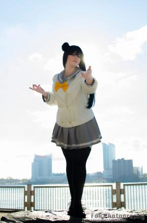 Yoshiko Tsushima from Love Live! Sunshine!! worn by Owl Eerie