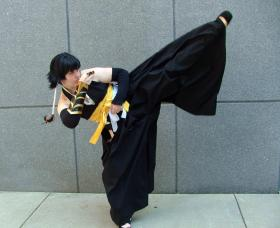 Soi Fong from Bleach worn by Rebel Cosplay