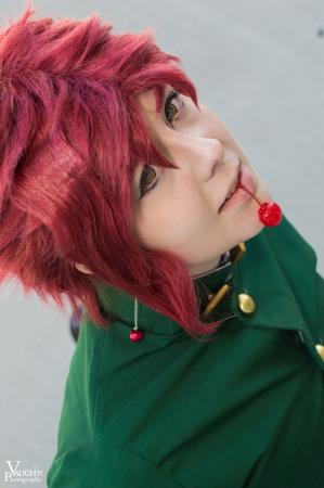 Noriaki Kakyoin from Jojo's Bizarre Adventure by Risuru-Chan