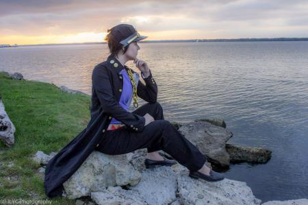 Jotaro Kujo from Jojo's Bizarre Adventure by Risuru-Chan