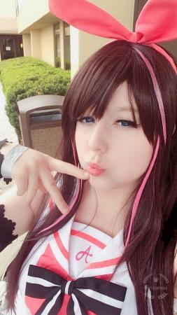 Kizuna Ai from Youtube by Risuruuu
