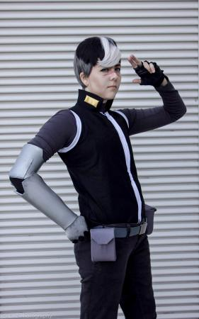 "Takashi ""Shiro"" Shirogane from Voltron: Legendary Defender worn by Risuruuu"