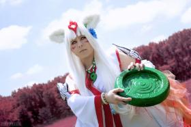 Amaterasu from Okami worn by Risuruuu