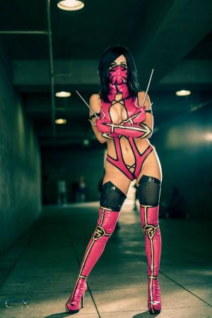 Mileena from Mortal Kombat 2011