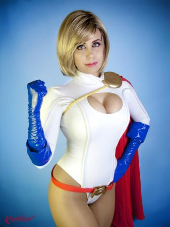 Power Girl from DC Comics
