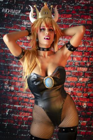 Bowsette from Super Mario Brothers Series