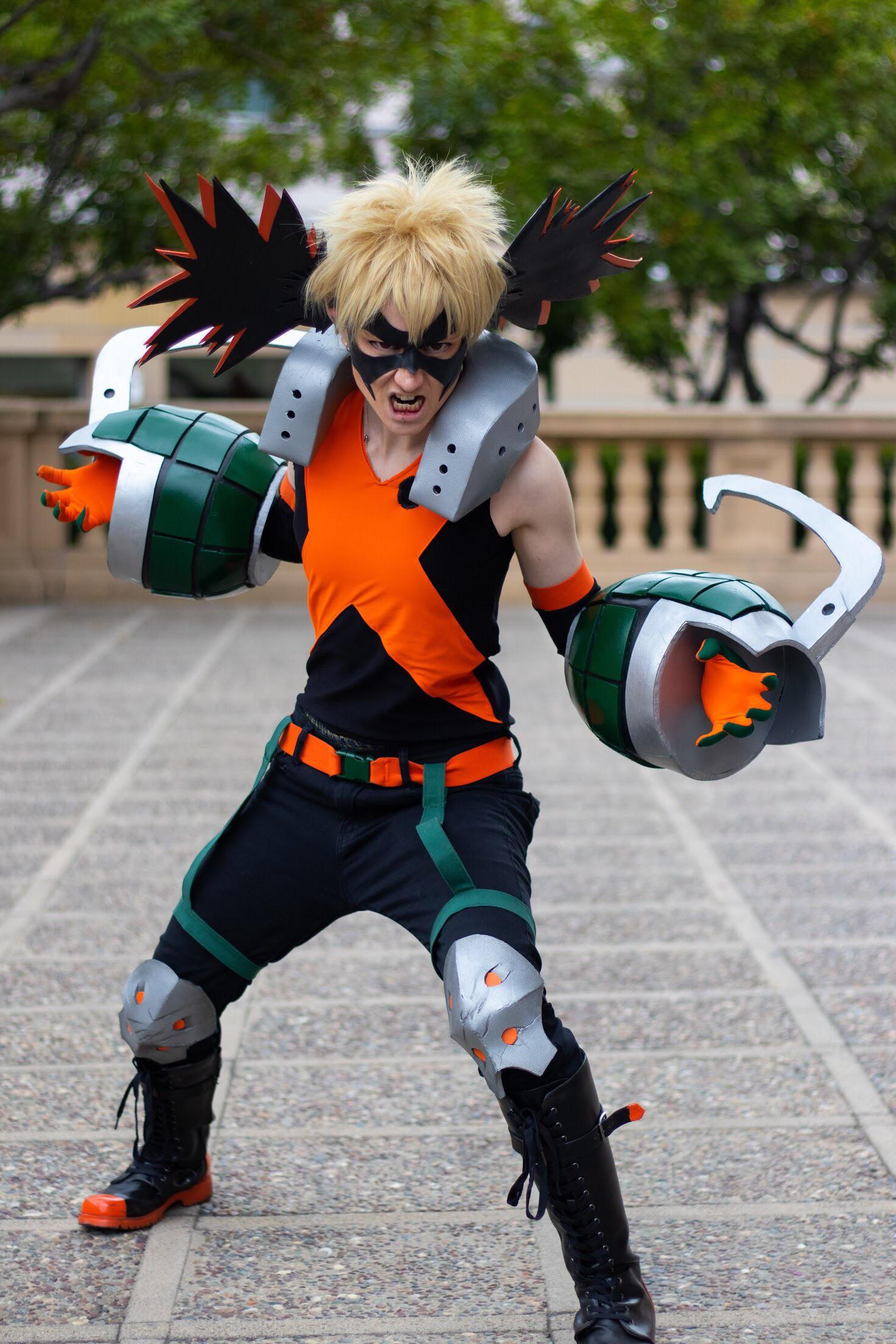 Katuski Bakugo - Katsuki Bakugo || Cosplay || Boku no hero