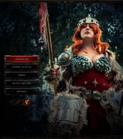 Barbarian from Diablo III worn by Blona Buttercap