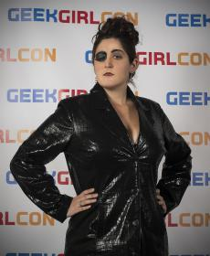 Madame Kovarian from Doctor Who worn by Blona Buttercap
