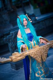 Sona from League of Legends worn by Jujub