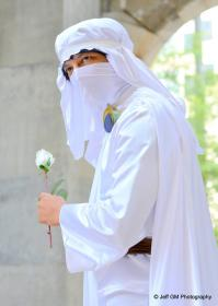 Tsukikage no Naito/Moonlight Knight from Sailor Moon R worn by King Happo
