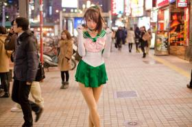 Sailor Jupiter from Sailor Moon worn by Otaku Casi