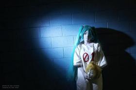 Hatsune Miku from Vocaloid 2 worn by Mai Chan