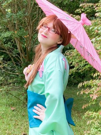 Mari Illustrious Makinami from Neon Genesis Evangelion