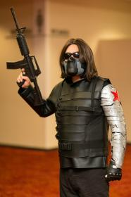 Winter Soldier from Captain America: The Winter Soldier (Worn by Bulgogi Boy)