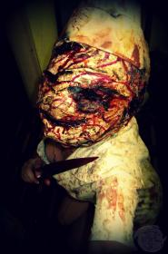 Bubblehead Nurse from Silent Hill worn by KiingCannibal