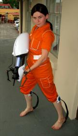 Chell from Portal worn by RavenDarkness7