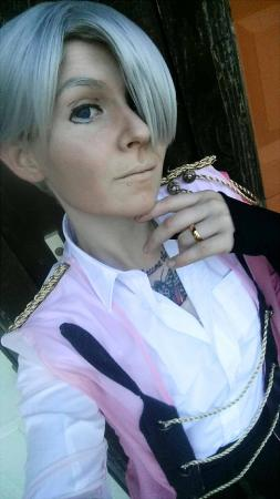 Victor Nikiforov from Yuri! on Ice