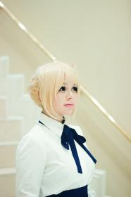 Saber from Fate/Stay Night worn by Crowkidd