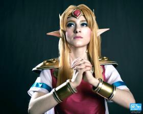 Princess Zelda from Legend of Zelda: A Link Between Worlds