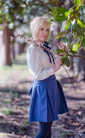 Saber from Fate/Stay Night worn by Cuvii