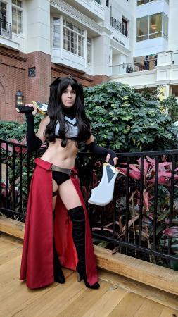Rin Tohsaka from Fate/Stay Night by Cuvii