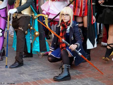 Mysterious Heroine X from Fate/Grand Order worn by Cuvii
