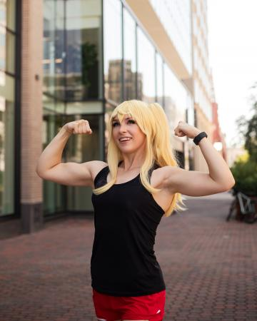 Hibiki Sakura from How Heavy Are the Dumbbells You Lift? worn by Cuvii