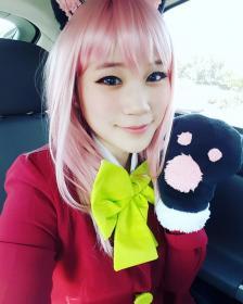 Nyaa Hashimoto from Osomatsu-san worn by PIYO