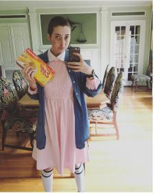 Eleven from Stranger Things worn by rainbowmeowmeow
